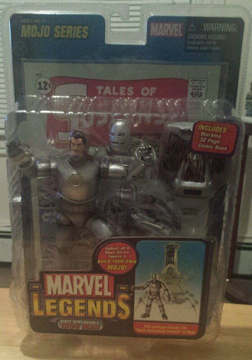 förundras Legends Mojo Series Första Utseendet Iron Man