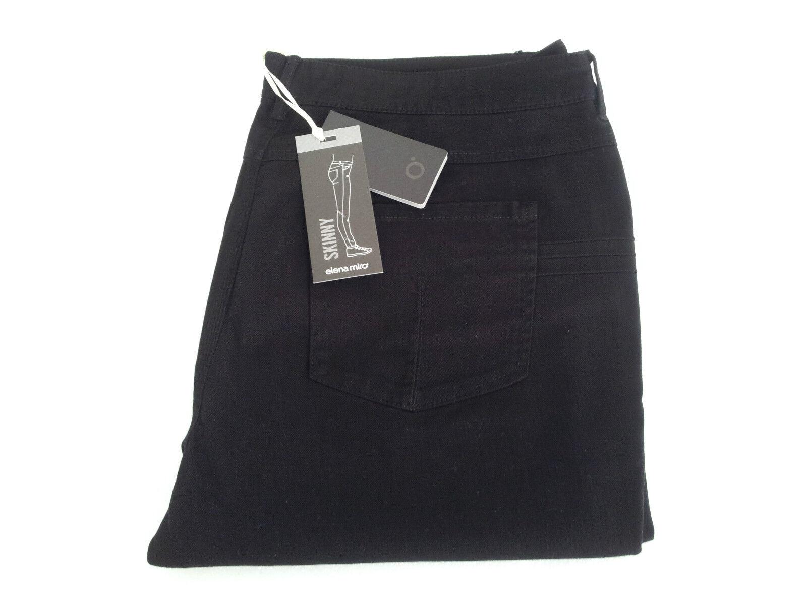 Women's Trousers bluee Jeans Elena Miro ' Model Skinny 55%Cotton 42%Lyocell