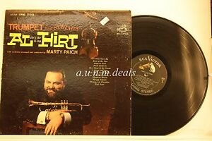 Trumpet-and-Strings-Al-Hirt-He-039-s-the-King-and-Orchestra-LP-12-034-G