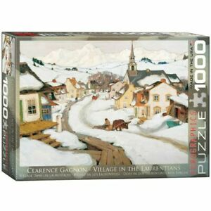 Eurographics Puzzle 1000 Piece Jigsaw - Village in the Laurentians EG60007183