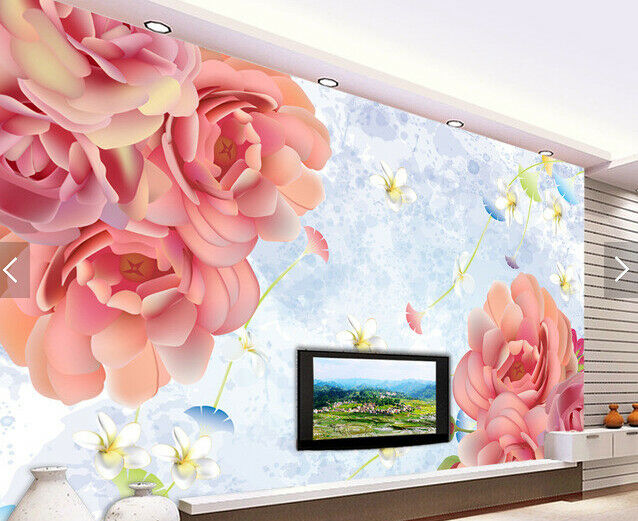 3D Flowers Petal 433 Wallpaper Murals Wall Print Wallpaper Mural AJ WALL AU Kyra
