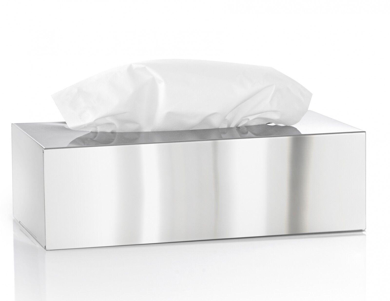 BLOMUS Edelstahl  Kosmetiktücherbox NEXIO Kosmetiktuchbox poliert  66660 | Ich kann es nicht ablegen