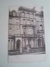 Rare Old Postcard Bella Vista Boarding Establishment by S M Gibson+Co Gateshead
