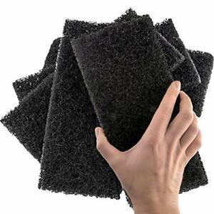 XL Heavy Duty Multipurpose Black Scrub & Scouring Pads by Mop Mob