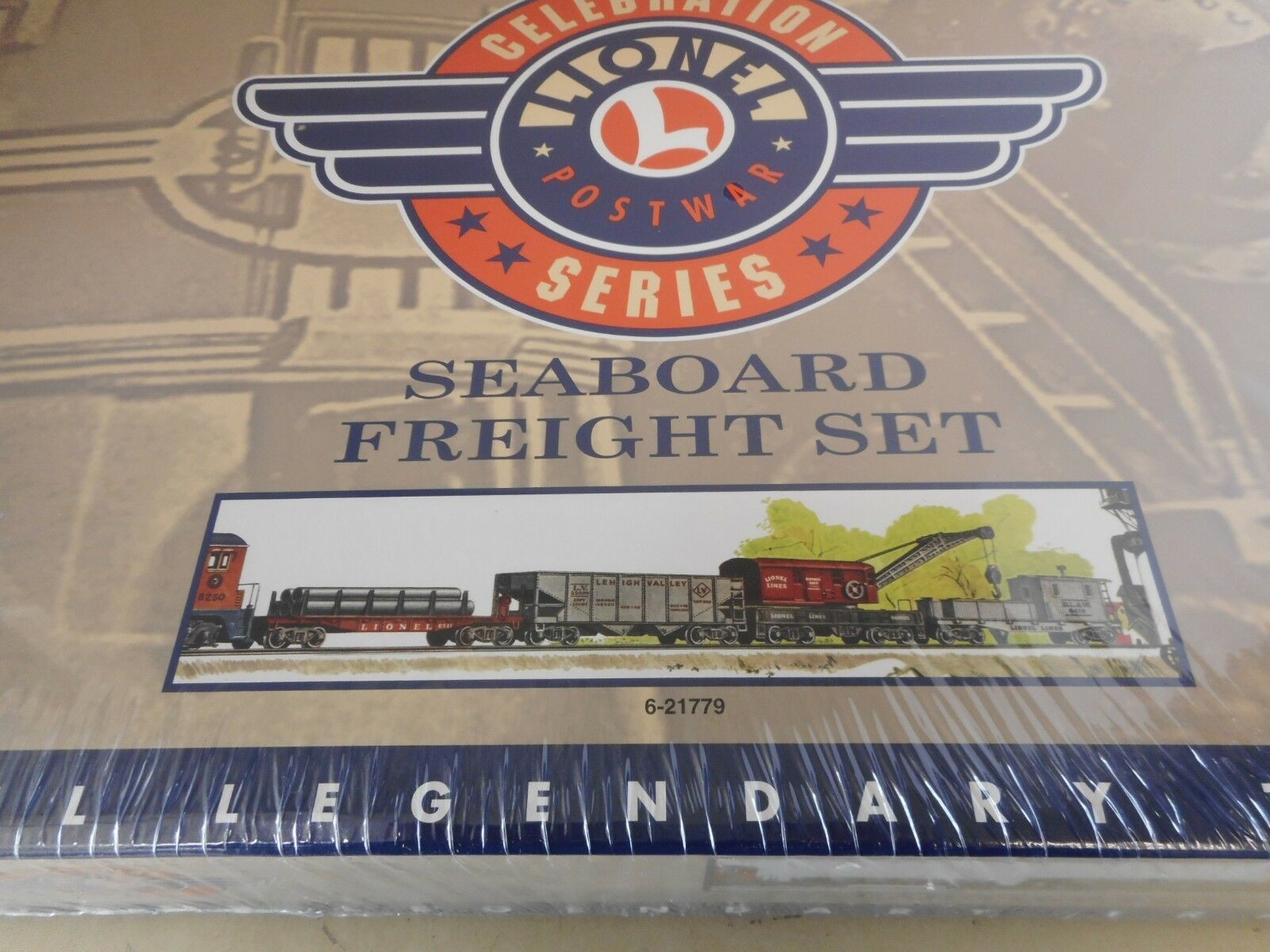 Lionel  21779 Seaboard Freight Car Set