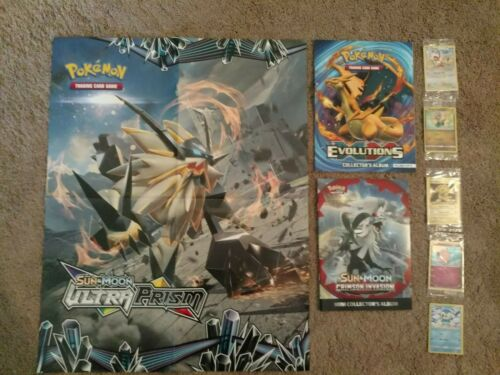 Toys R Us 20th Anniversary Pokemon Cards 2 Collector/'s albums,/& Game Poster.