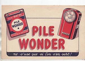 Buvard - Pile Wonder...(réf. 70/29) 4tedvbqv-08000309-867537402