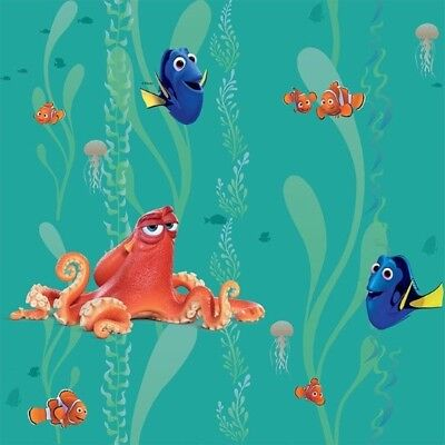 100/% Cotton Fabric Disney Finding Dory Under Sea Upholstery 140cm Wide