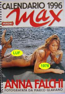 Nuda Calendario.Dettagli Su Calendar Sexy Anna Falchi Nude Calendario Max 1996