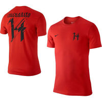 Nike Chicharito Manchester United Mexico Hero Soccer Shirt 2013 Brand Red