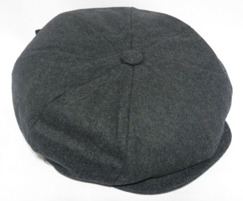 New Winter 8 panel apple jack hat cap with two button