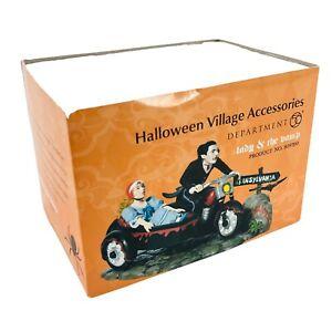 Dept 56 Halloween Village Lady /& the Vamp Retired 809390