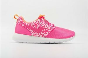 24dd43de34 Girls Nike Roshe Run Pink/Orange/White 677784 603 Size: UK 5.5 ...