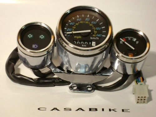 Roller Tacho Tachometer 125ccmTachoeinheit Cockpit Motorroller Retro ZNEN Nova