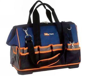Image Is Loading Dexter 18 034 Open Tote Tool Bag Waterproof