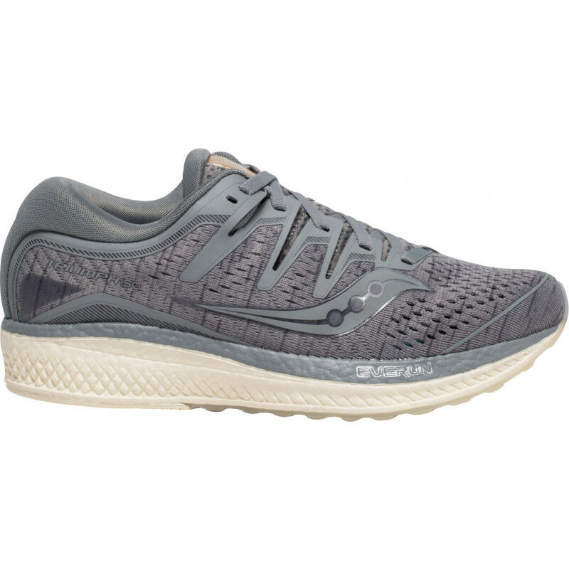 Womens Saucony Triumph Iso 5 Womens Runniung shoes - Grey
