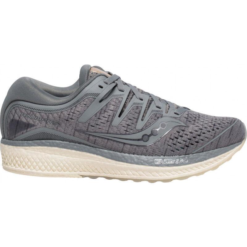 Para mujer Saucony Triumph ISO 5 para mujer runniung Zapatos-gris