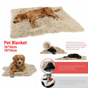 Extra-Large-Dog-Cat-Puppy-Blanket-Pet-Soft-Fluffy-Blanket-Cosy-Warm-Throw-Mat