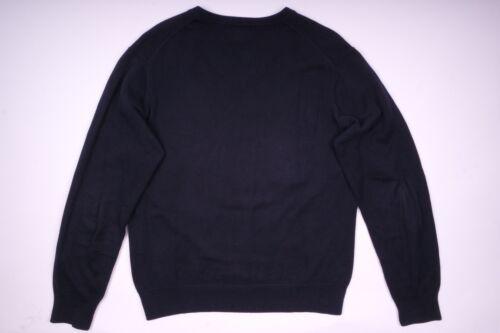 Pullover Gant Größe Strickpullover M neck Herren Blau V HwxwP7qp