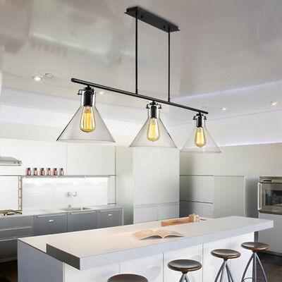 Gl Chandelier Lighting Kitchen Ceiling Lights Bar Pendant Lightng Home Lamp 627009337106 Ebay