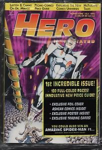 Hero Illustrated Magazine #1 Foil Edition Doctor Mirage SEALED cards B8.557