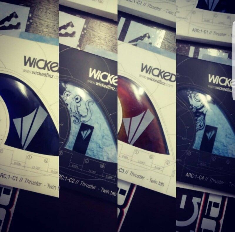 Hey guyz/girls and surf shop owners we got 700 sets of Wicked Finz For sale R99 per set of three
