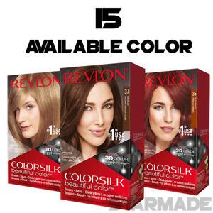 REVLON-COLORSILK-Beautiful-Color-Permanent-Hair-Dye-3D-GEL-Bleach-Selected-Color
