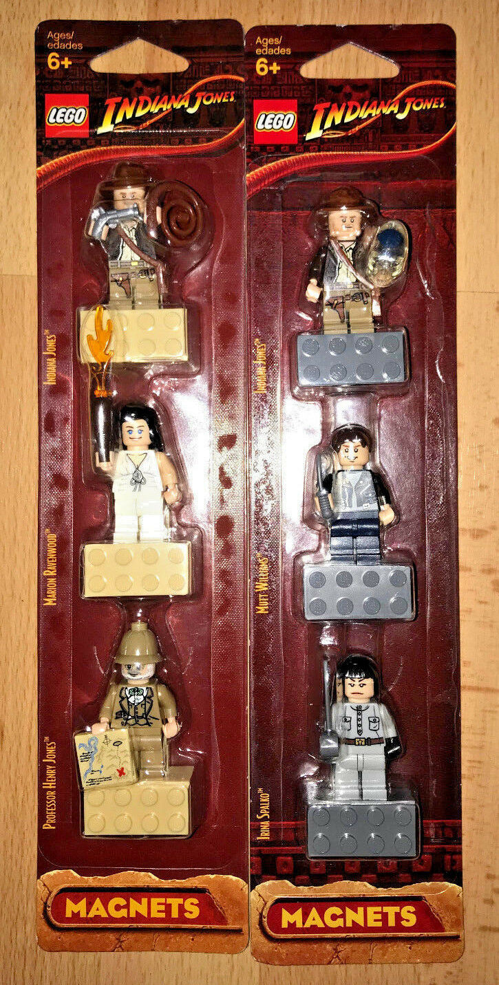 NEW LEGO Indiana Jones Irina Spalko Mutt Williams Henry Marion Ravenwood