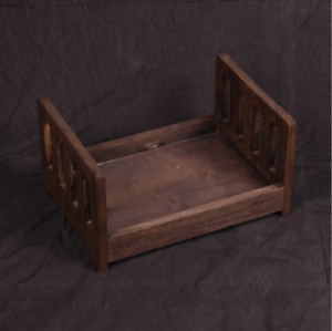 Pink Newborn Props Photography Cot Baby Photo Small Wooden Bed Posing Baby Photography Props Cot Baby Photo Studio Props for Photo Home Accessories