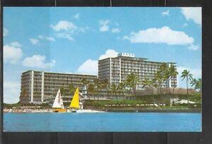 Details About Reef Hotel Waikiki Beach Hawaii Vintage Postcards