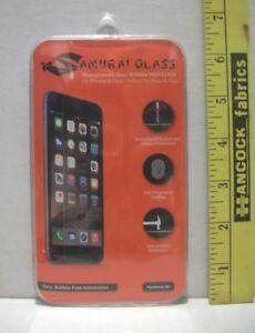 SAMURAI GLASS SCREEN PROTECTOR FITS IPHONE 8 PLUS 7 PLUS 6 PLUS 6S PLUS NEW