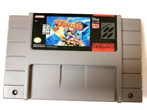 Pinocchio-SNES-Super-Nintendo-Game-Tested-Working-amp-Authentic