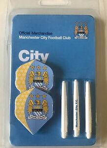 2-Sets-Official-Manchester-City-Dart-Flights-and-One-Set-of-Stems