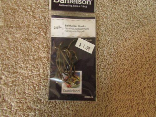Pack of 7 Hooks NEW G 31 12 Packs Danielson Baitholder  Hooks -Size 2//0