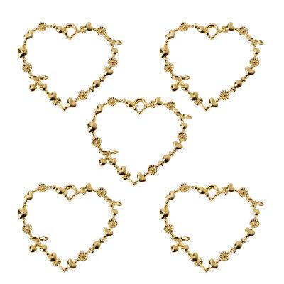 5Pcs Crystal Ball Resin Frames Bezels Setting Blank Pendant Resin Jewelry Making