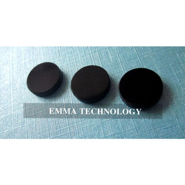 3pcs 7mm Filter Lens against 400-750nm/pass 808-1064nm IR Laser