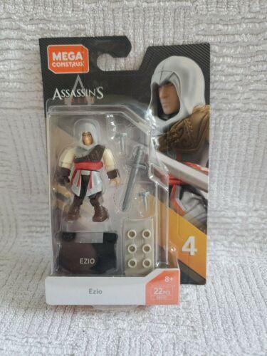 Mega Construx Series 4 Assassins Creed Ezio GBG37 Figure Brand New Sealed 22pc