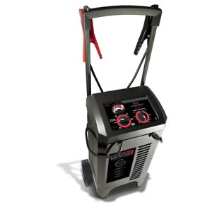 Manual Wheeled Battery Chargers with Engine Start: 6/12V, 225/50/25/10 Amp New!
