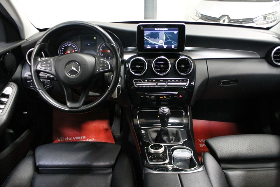 Mercedes C220 d 2,2 stc. Diesel modelår 2016 km 122000