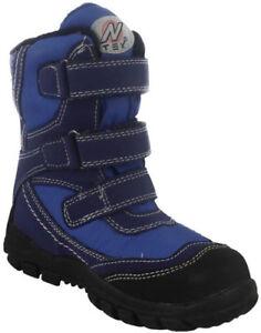 2d4c40a58 La foto se está cargando Clarks-dia-de-nieve-azul-marino-chicos-Resistente-