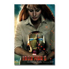 Iron Man Hot Movie Art Silk Poster Canvas Print 12x18 24x36 inch