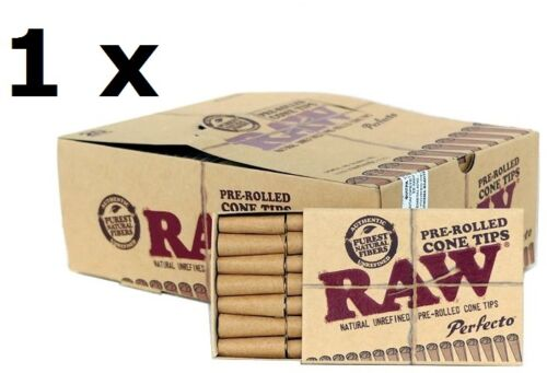 Raw Pre-Rolled Cone Rolling Filter Tips 21 tips//booklet pcs sample//1//2//5//10//20