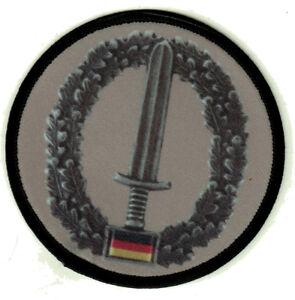 KSK-Aufnaeher-Khaki-Patch-Bundeswehr-Barettabzeichen-Soldat-Bw-Tropentarn-Kommand