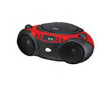 GPX CD Player BoomBox Portable MP3 Sports Stereo AM FM Radio Sound Machine