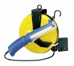 Nec 511 professional fluorescent retractable cord reel work light image is loading nec 511 professional fluorescent retractable cord reel work publicscrutiny Gallery