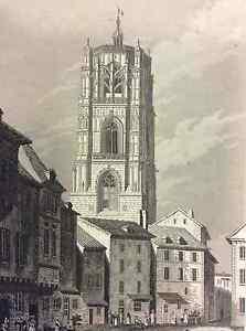 Tower-Rodez-First-half-Xixth-Aveyron