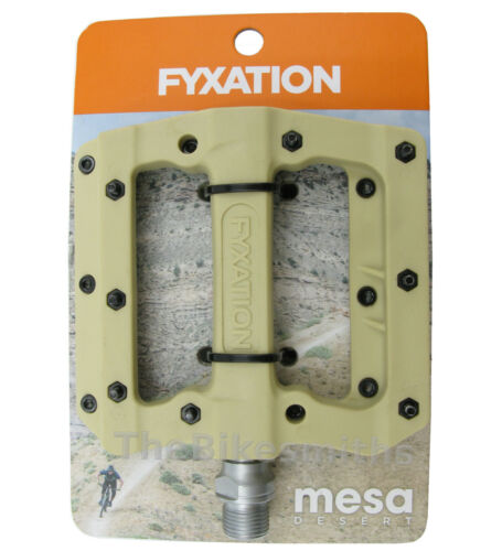 FYXATION Mesa MP MTB Bike Platform Sealed Pedals Face w//Pins fits Race Chester