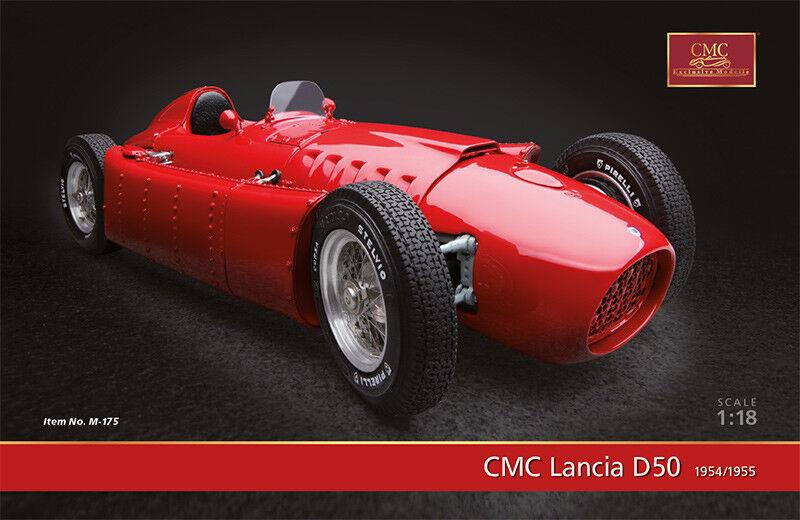 Ferrari D50 1954-55 Press Version rouge 1 18 Model 175 CMC