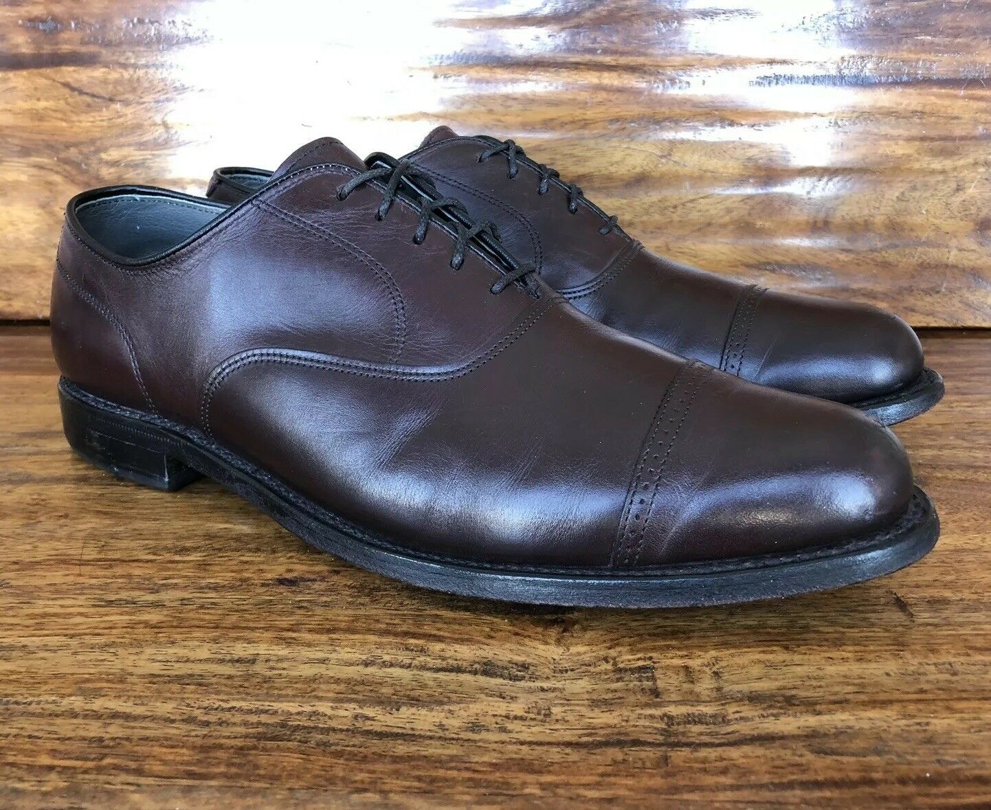Mens Footjoy Classics Dress shoes 11.5 D Made In The USA