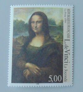France-annee-1999-3235-neuf-luxe-Leonard-de-vinci-la-joconde